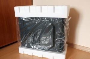 Antec GX500 protective packaging