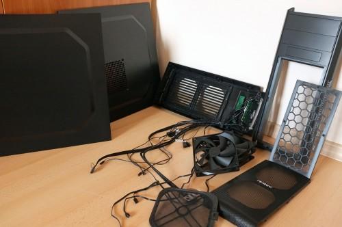Antec GX500 parts