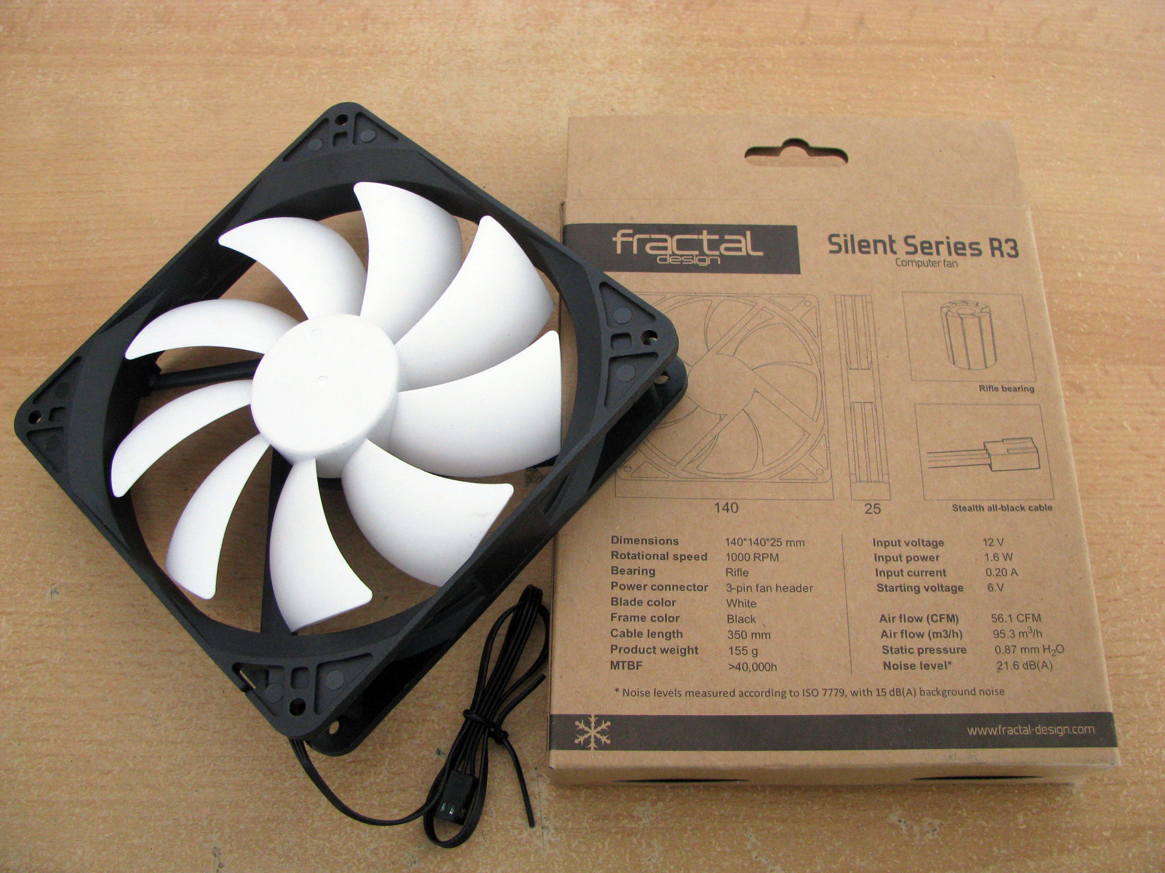 Fractal Design Silent Series R3 120mm and R3 140mm - Test and Review -