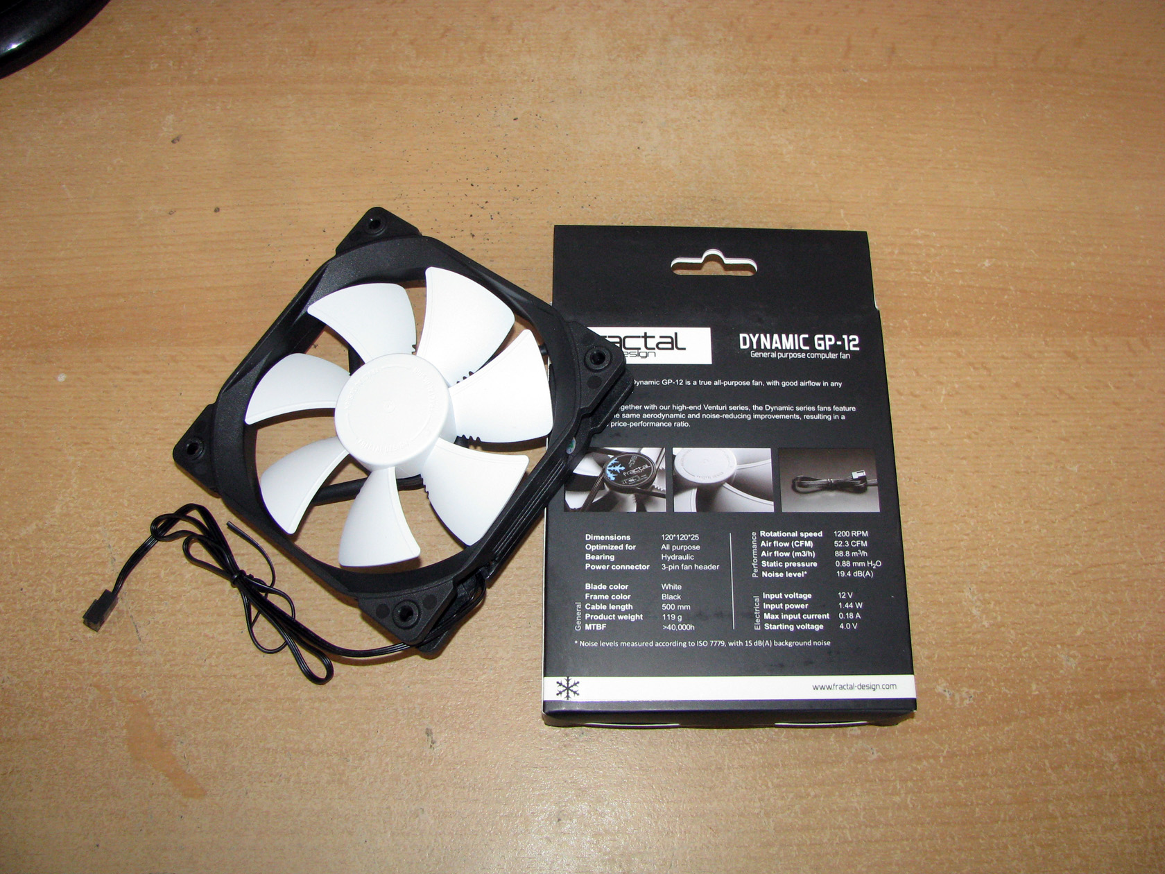 Fractal Design Dynamic GP12 and GP14 - Test and Review -