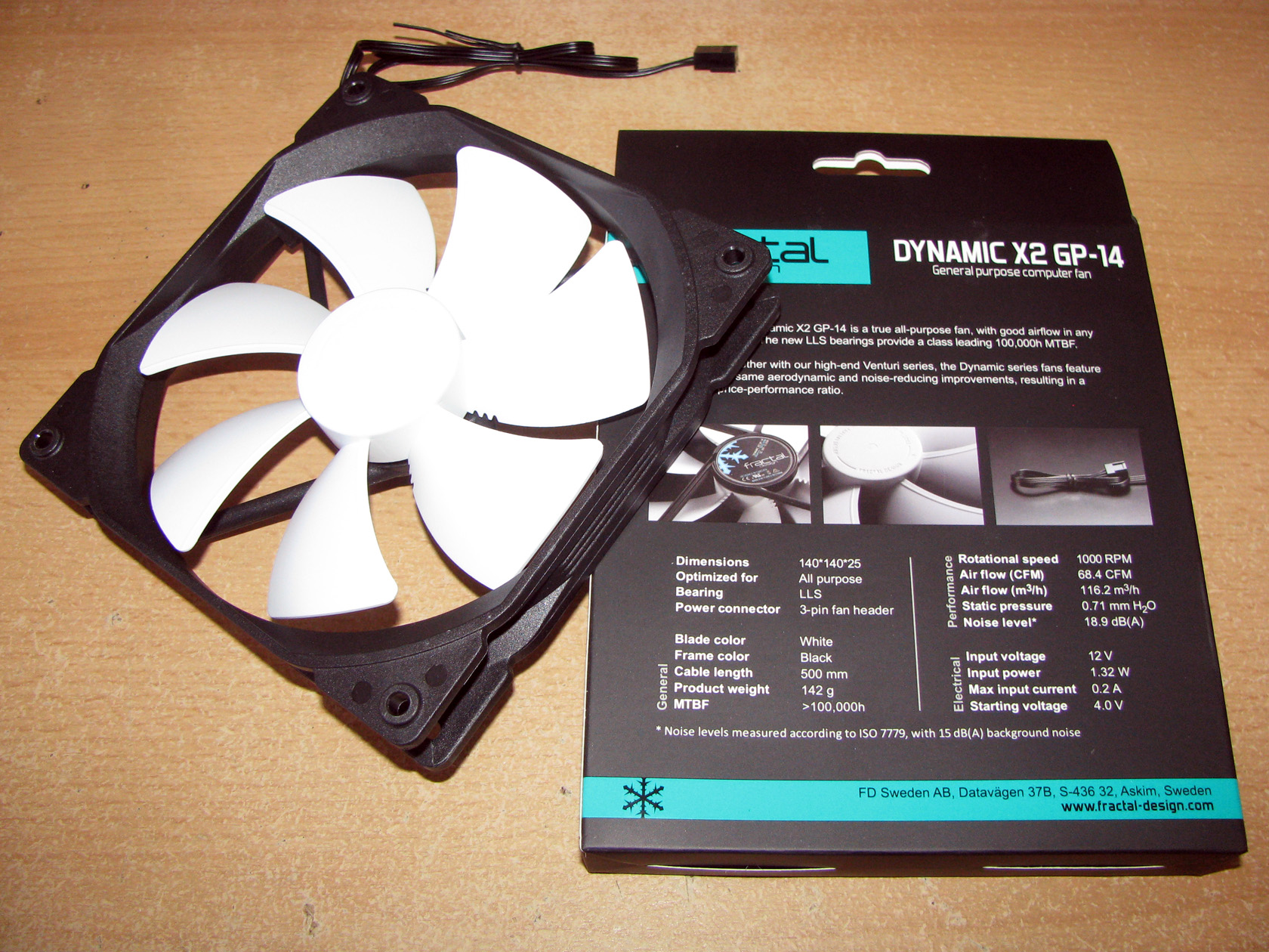 Fractal Design Dynamic X2 GP12 and X2 GP14 - Test and Review -