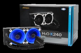 Antec H₂O Kühler K120 and K240