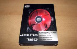 Cooler Master JetFlo 120 Test and Review