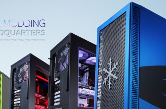 Fractal Design introduced The Modding Headquarters