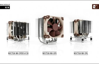 Three new CPU Coolers from NOCTUA