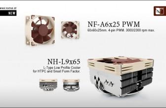 Noctua NH-L9x65 and NF-A6x25 PWM fan