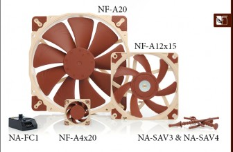 Noctua released new A-series fans and additional accessories