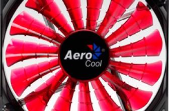 Ревю на Aerocool Shark Devil Red Edition 140mm