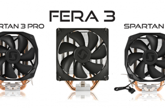 SilentiumPC intoduce Fera 3 HE1224, Spartan 3 LT HE1012 and Spartan 3 PRO HE1024
